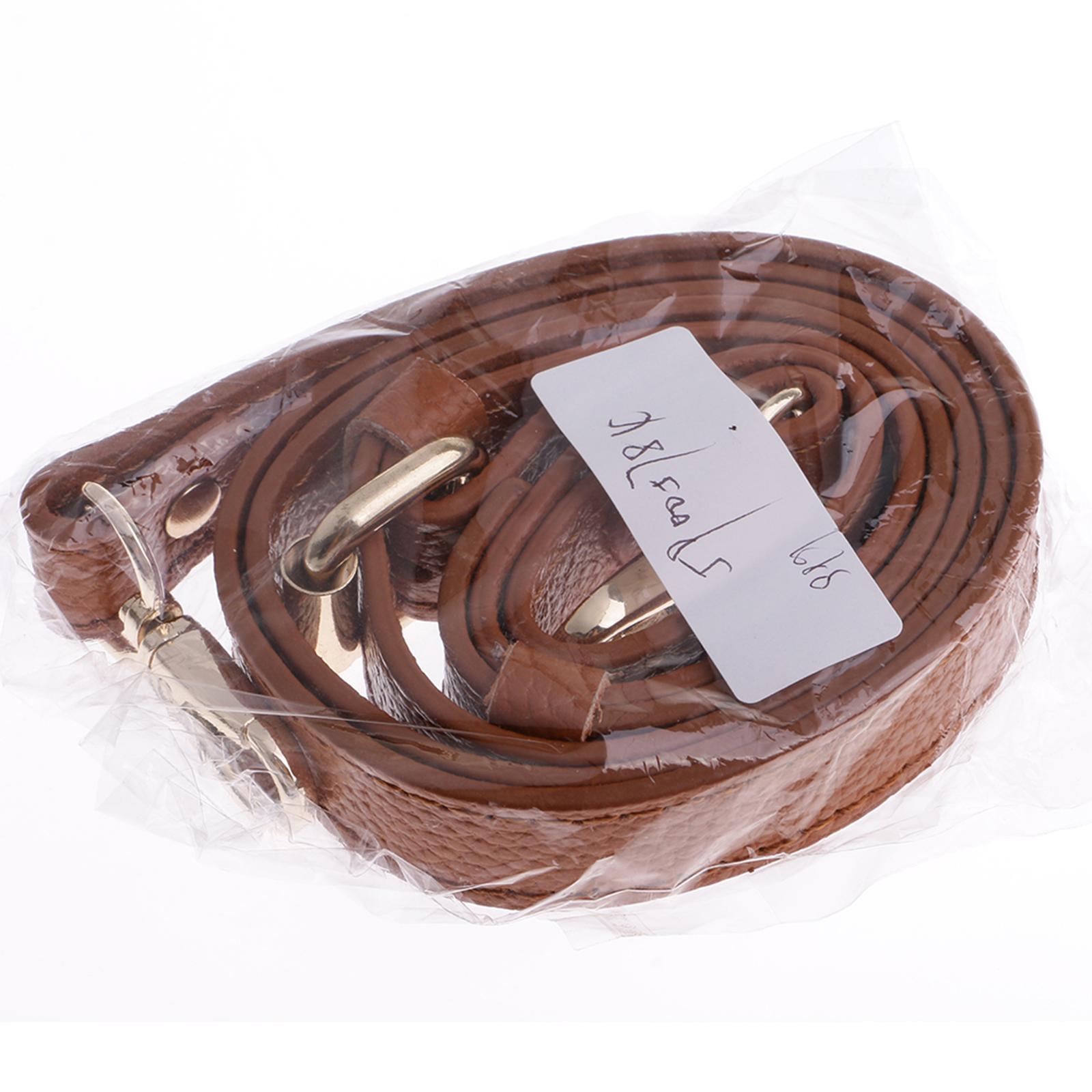 miniature 9 - Replacement Leather DIY Adjustable Long Shoulder Strap Crossbody Purse