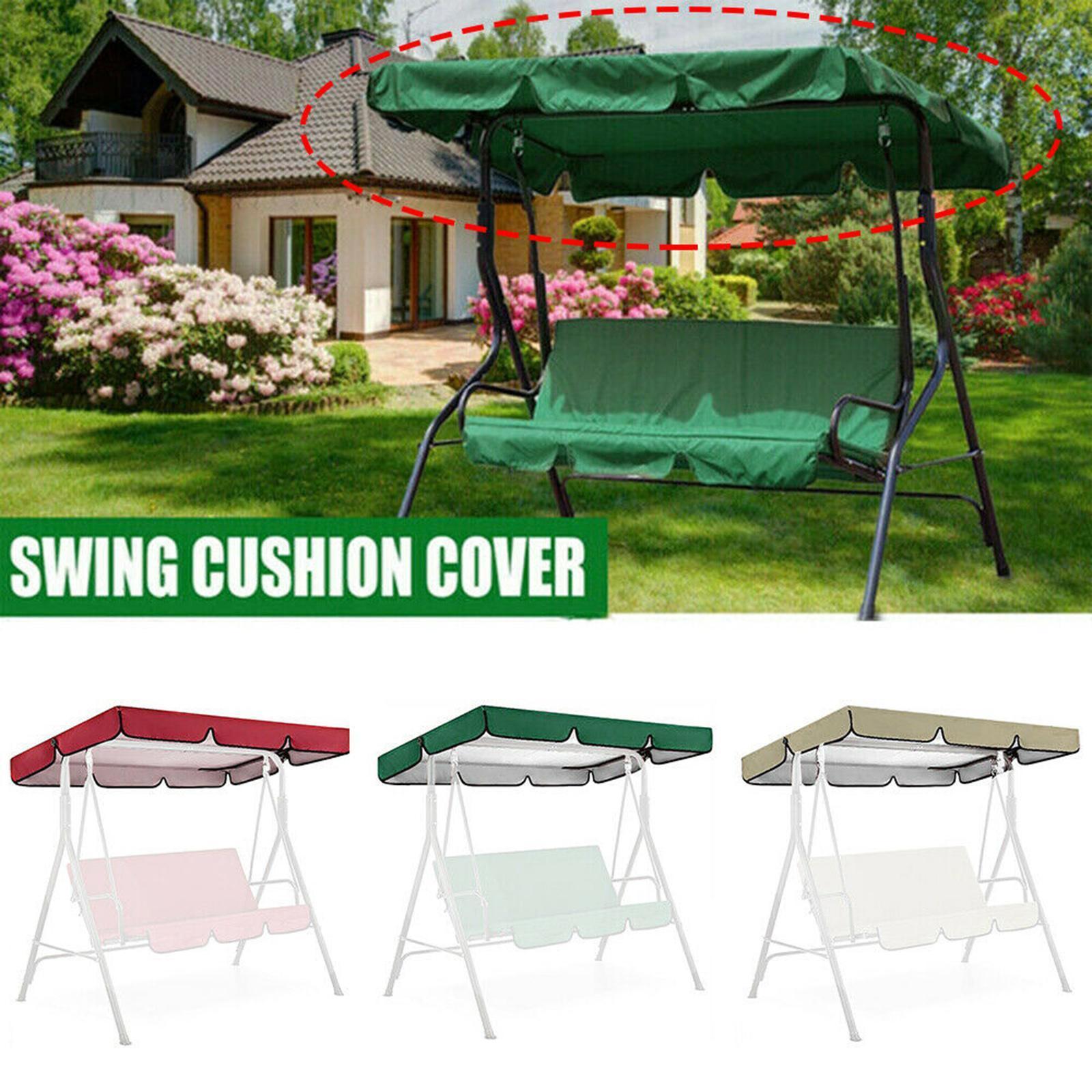 miniatura 6 - Copertura superiore della sedia a dondolo da giardino per esterni con