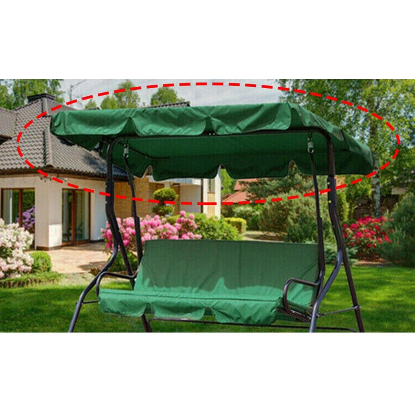 miniatura 10 - Copertura superiore della sedia a dondolo da giardino per esterni con