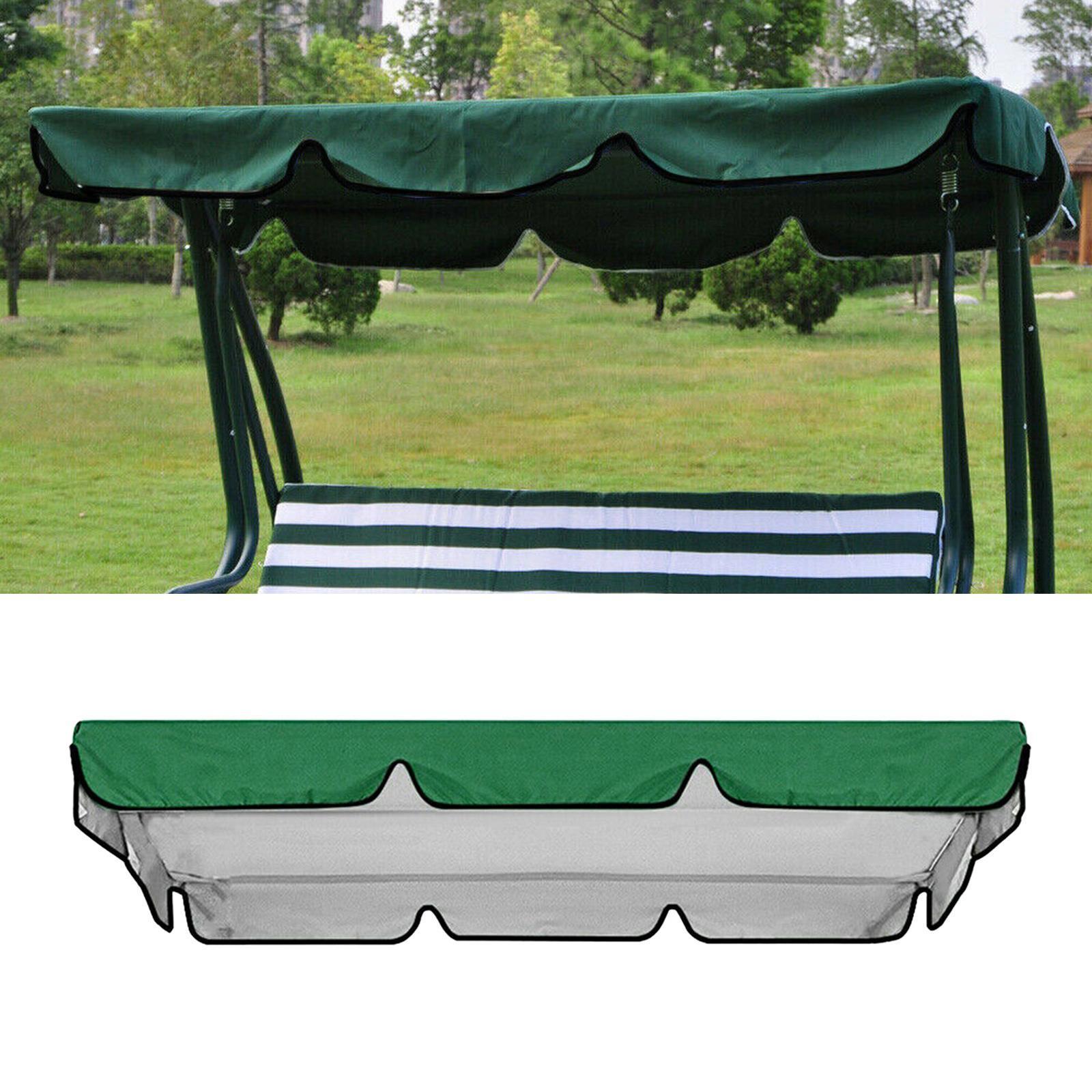 miniatura 12 - Copertura superiore della sedia a dondolo da giardino per esterni con