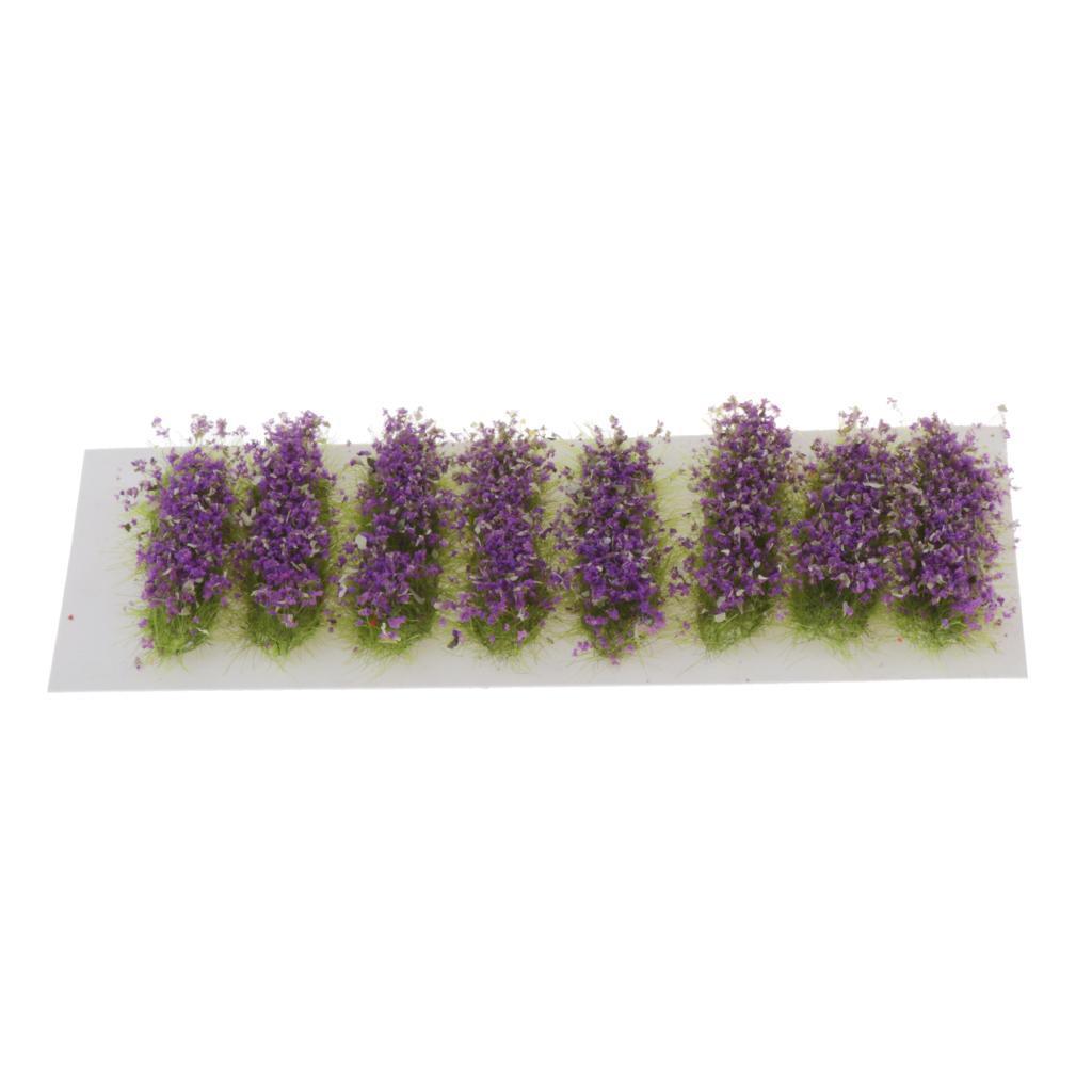 Ciuffi-di-Fiori-Statici-per-Diorama-Wargaming-Miniature miniatura 15