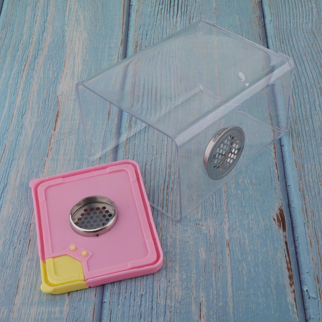 Scatola-Di-Alimentazione-In-Plastica-Trasparente-Per-Riproduzione-Di-Rettili-E miniatura 6
