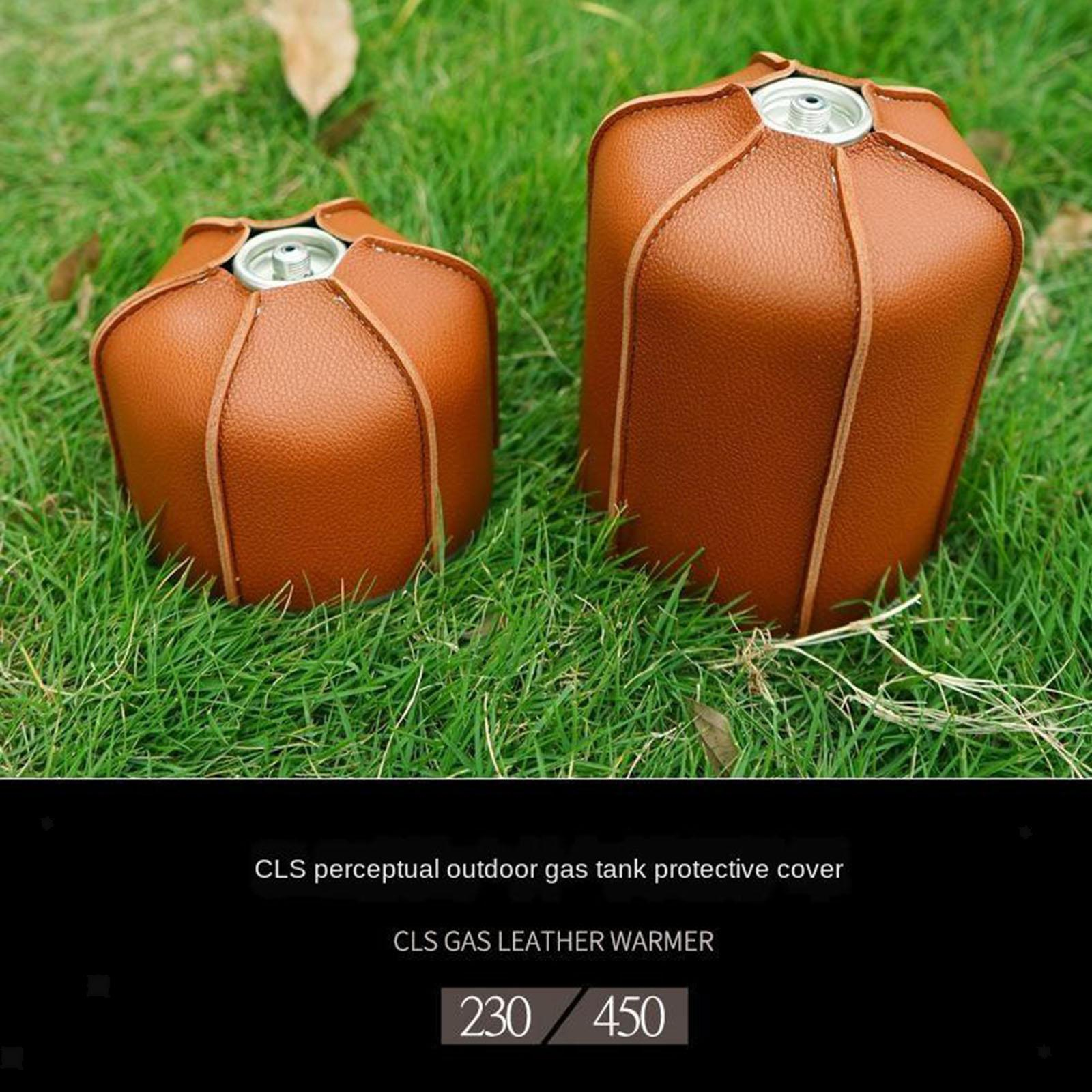 450G//230G Camping Cover Gas Tank Protective Case Fuel Cylinder Storage Bag