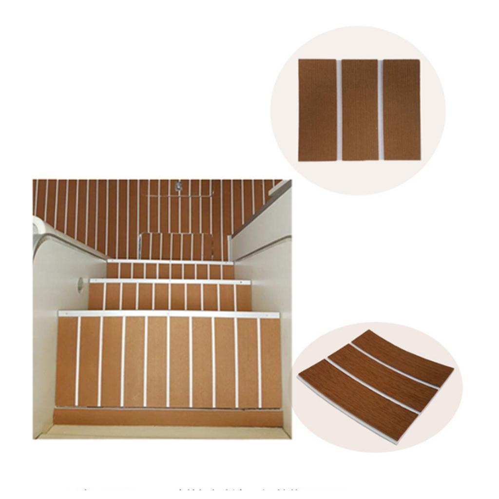 EVA-Faux-Teak-Decking-Tapis-De-Plancher-Antiderapant-Pour-Bateau-De-Peche miniature 9