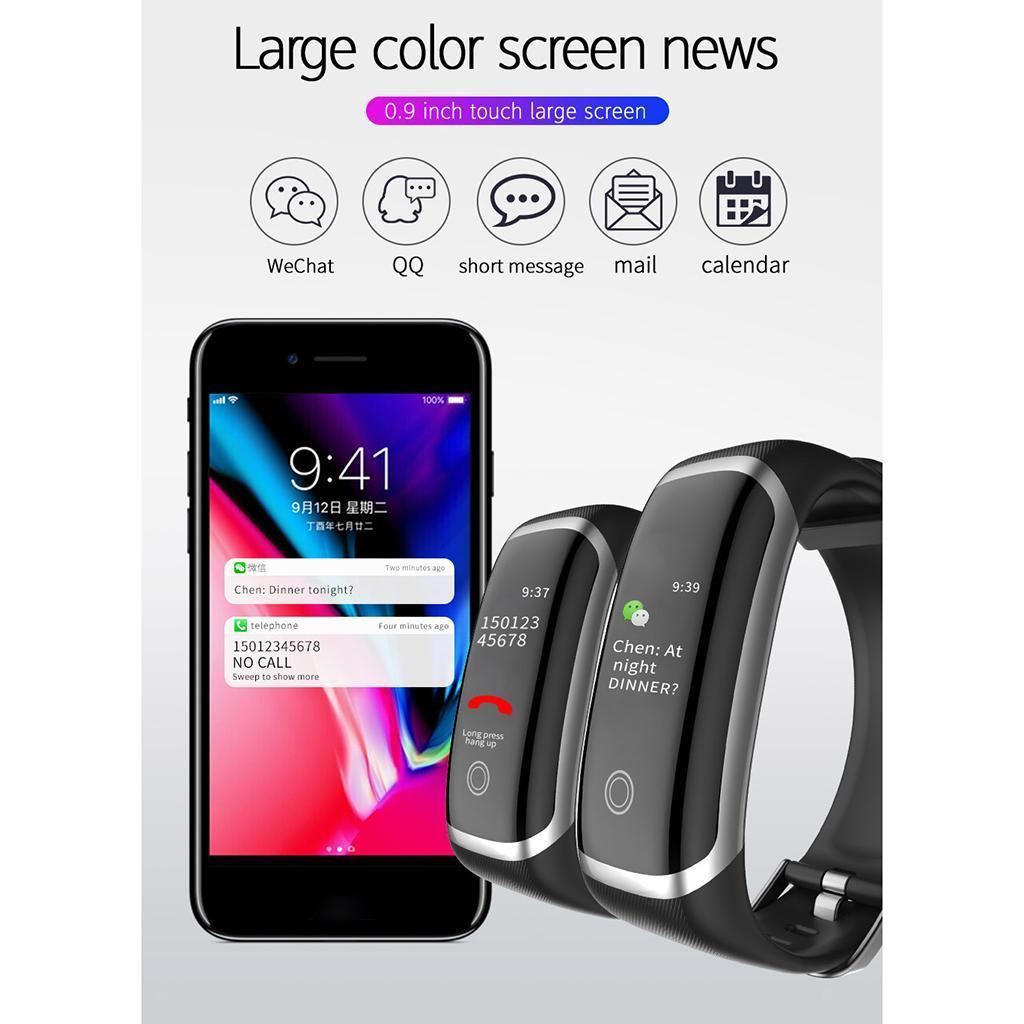IP67 Smartwatch Pulsuhren Fitnessband Schrittzähler mit ...