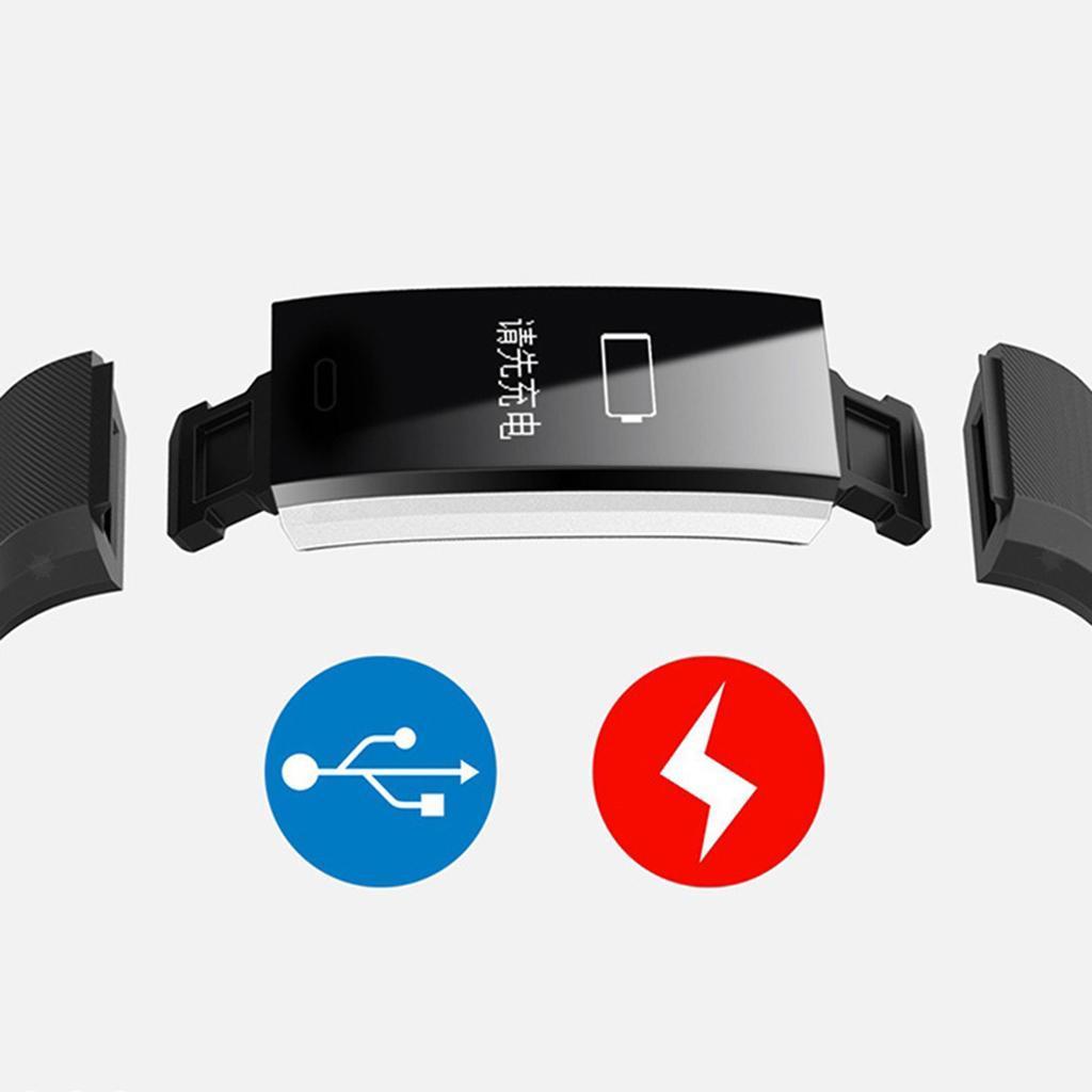 Bluetooth-Smart-Watch-Blood-Pressure-Fitness-Tracker-Waterproof-Wristband miniature 14