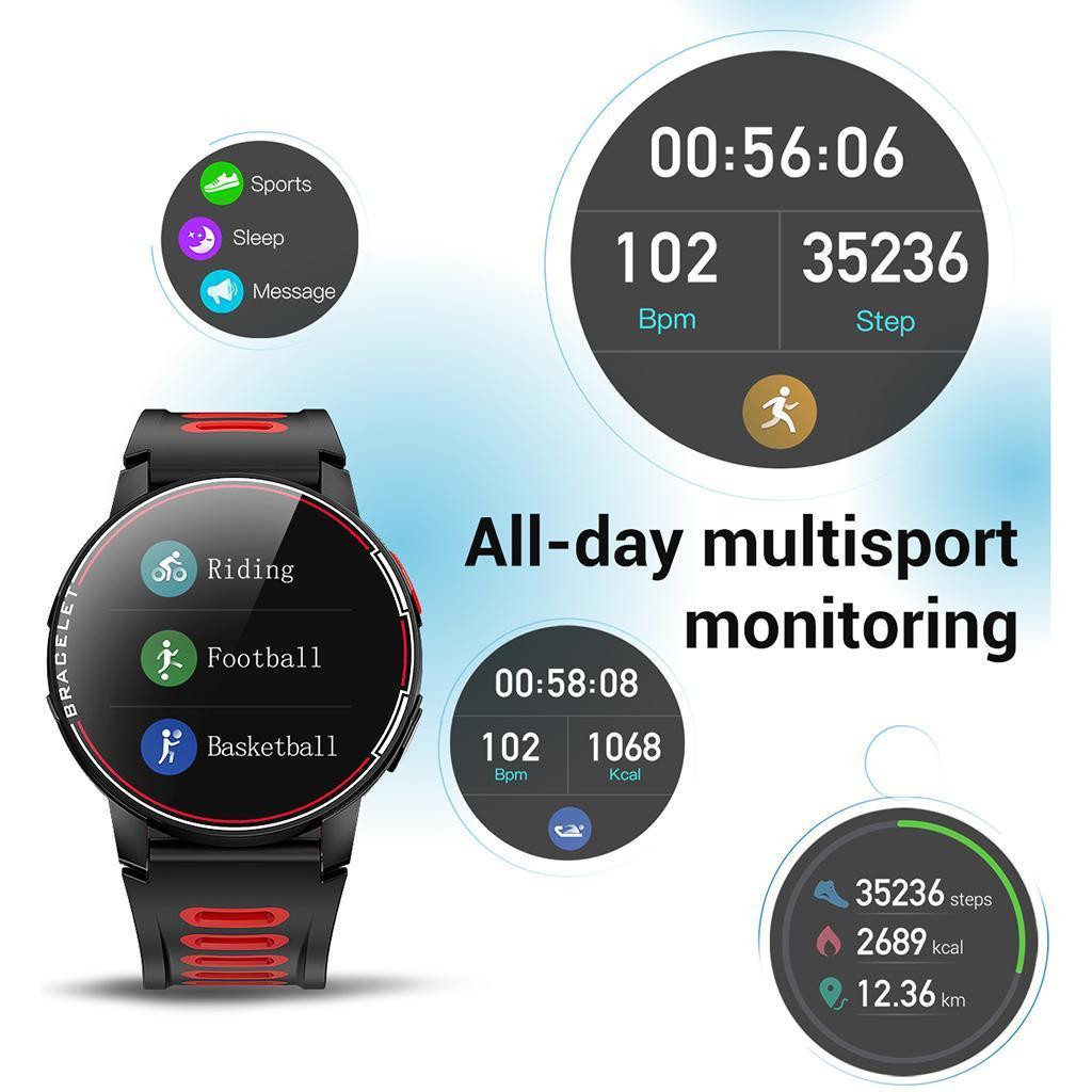 miniature 10 - S20 montre intelligente hommes IP68 étanche Fitness Tracker moniteur de