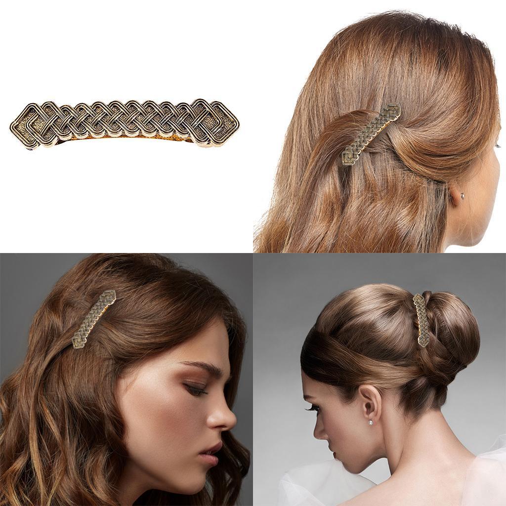 Barettes-Pince-a-Cheveux-Celtique-en-Alliage-Accessoires-de-Cheveux-Parfaite miniature 20