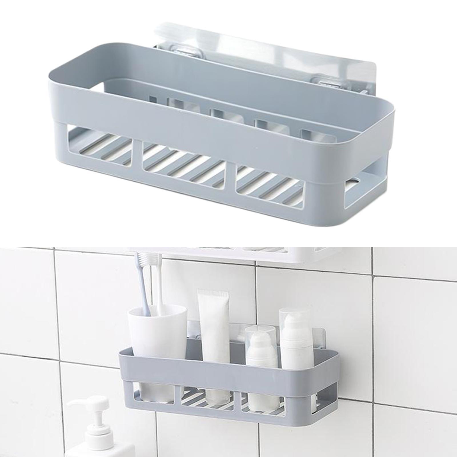 thumbnail 31 - Wall-Suction-Bathroom-Shelf-Shower-Caddy-Wall-Mount-Storage-Rack-Organizer