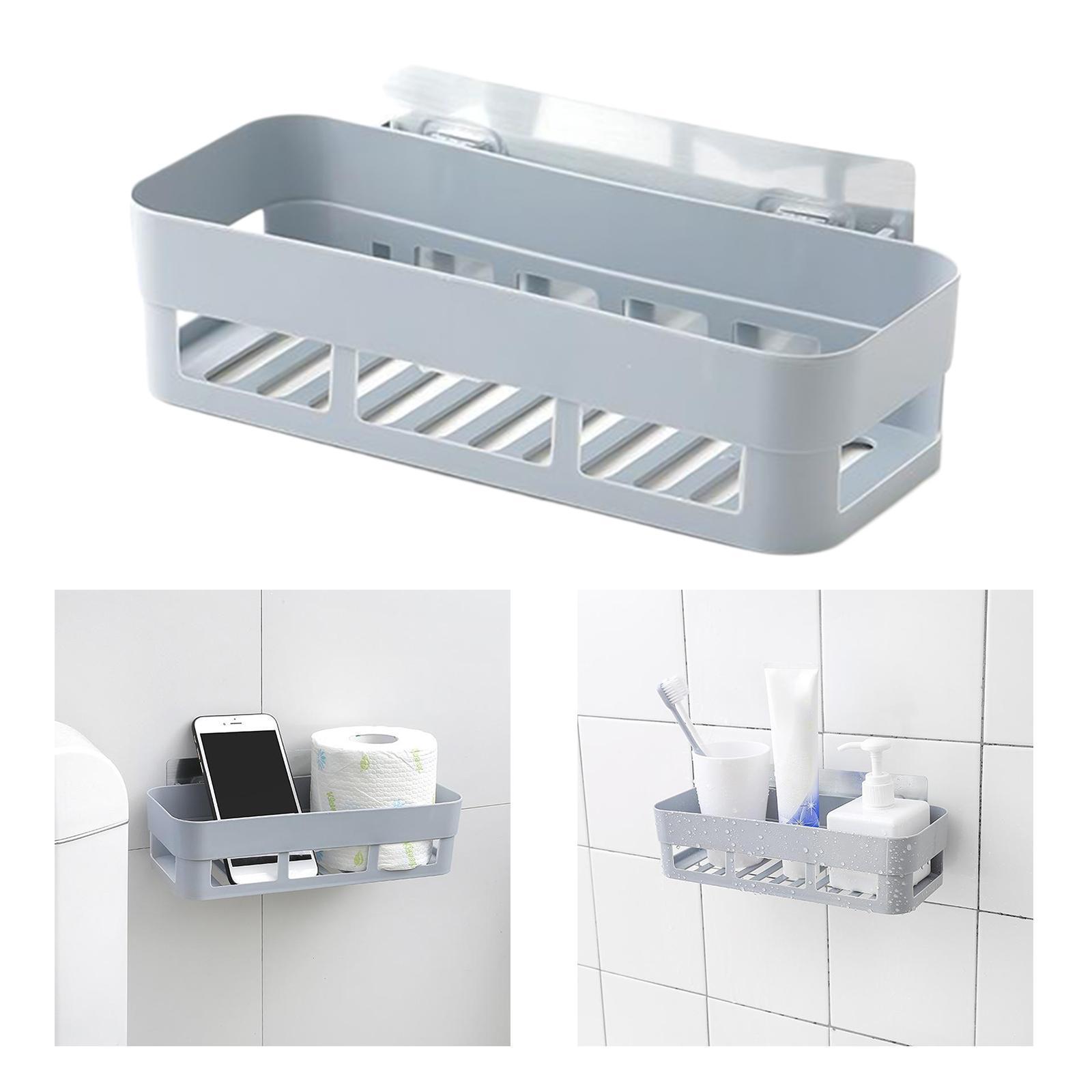 thumbnail 33 - Wall-Suction-Bathroom-Shelf-Shower-Caddy-Wall-Mount-Storage-Rack-Organizer