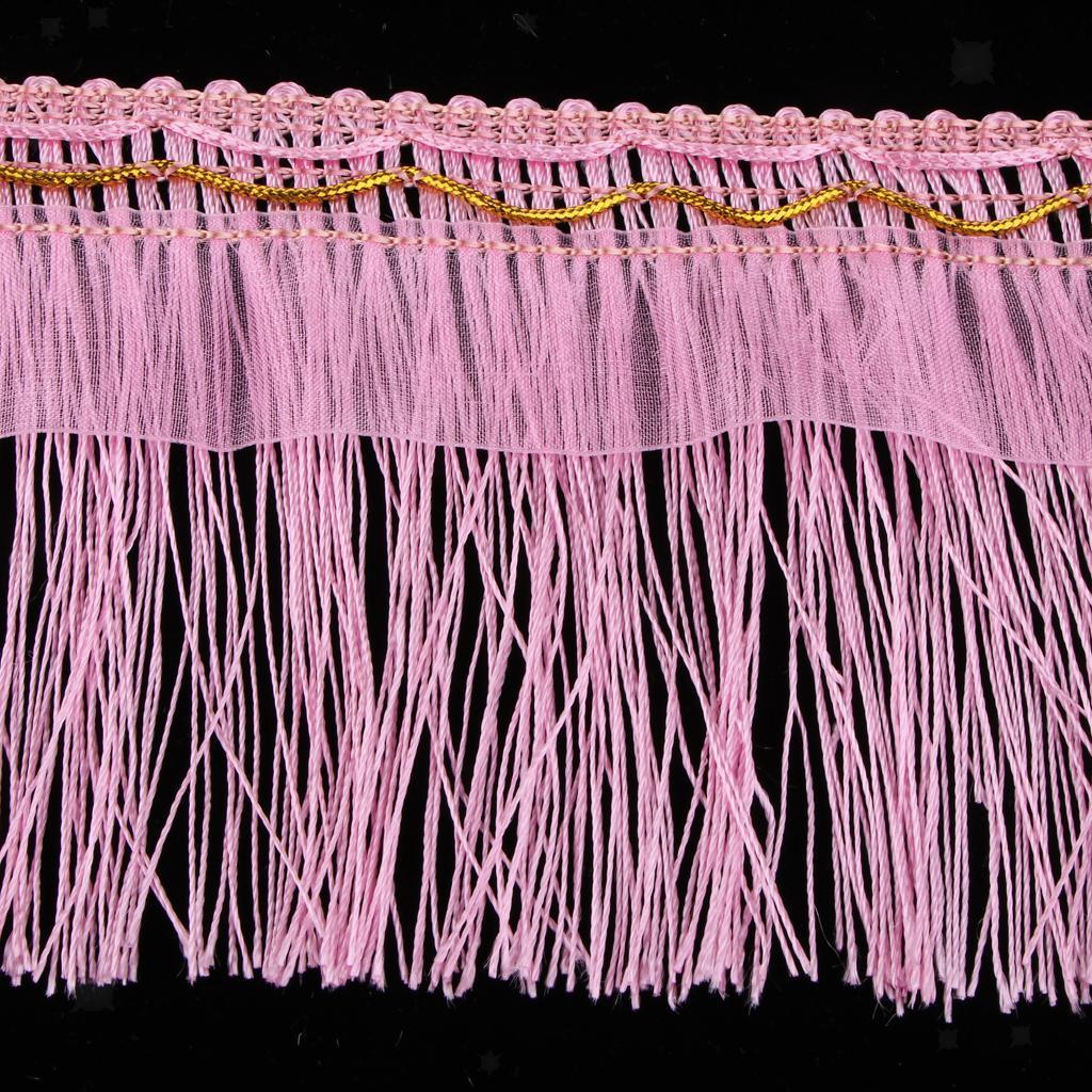 miniatura 18 - 1 rotolo di poliestere bordo nappa tappezzeria treccia trim tessuti per la casa