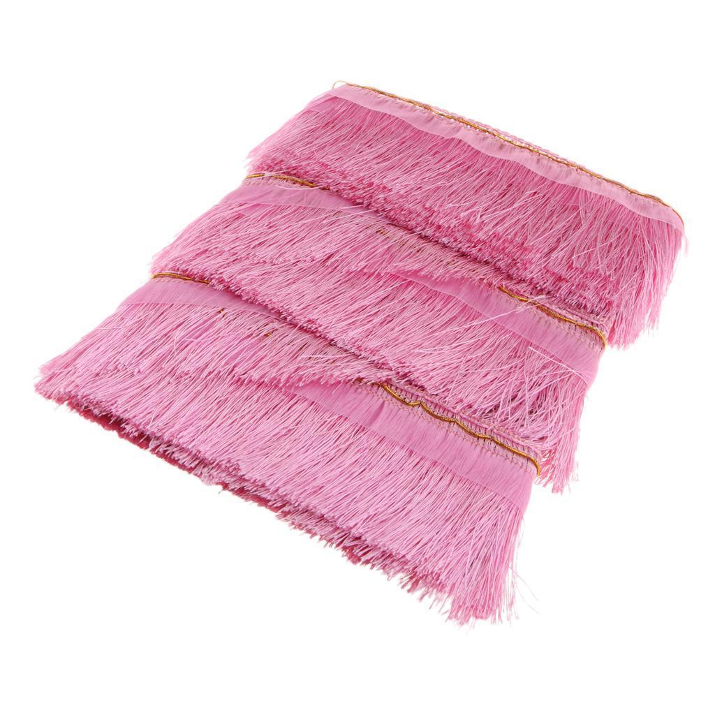 miniatura 19 - 1 rotolo di poliestere bordo nappa tappezzeria treccia trim tessuti per la casa