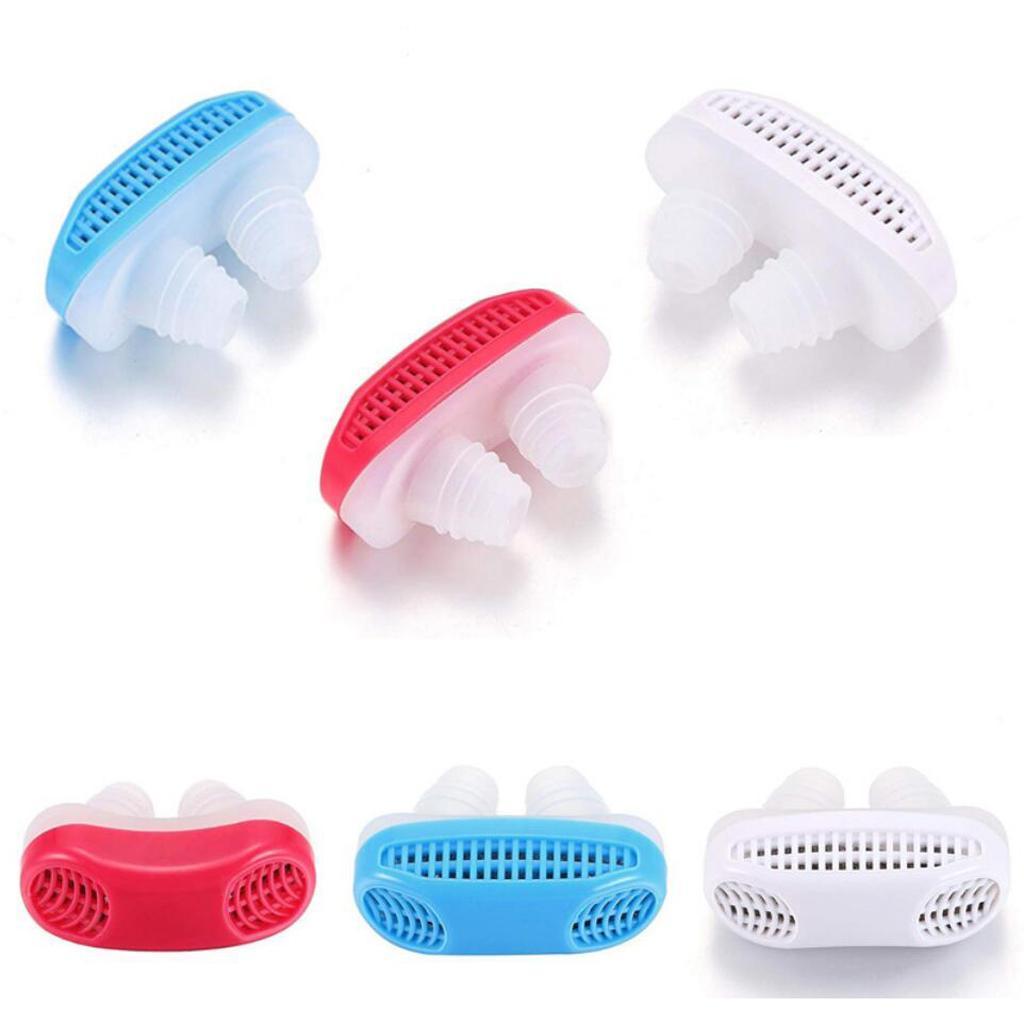 Silicone-Anti-Snore-Dilatateurs-nasaux-Apnee-Aide-Nez-Clip-Dispositif-de miniature 7