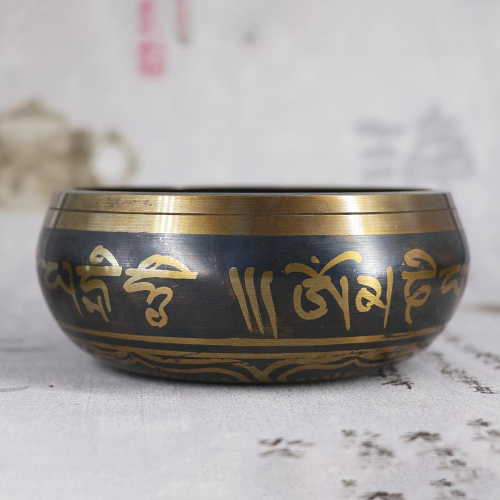 miniatura 8 - Nepal Singing Bowl Meditazione Buddista Ciotola Religione Relax Decorazioni