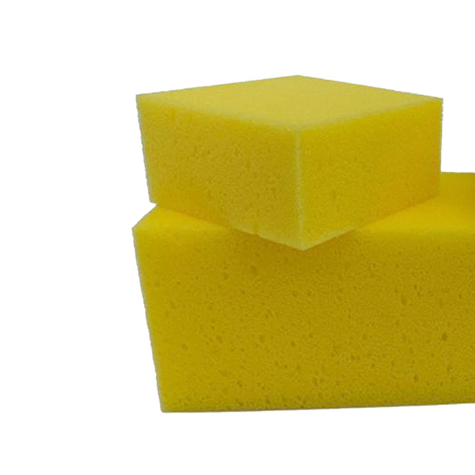 Auto Car Foam Sponges Block Cellulose Sponge Multi-uses for Glass Dish Cup