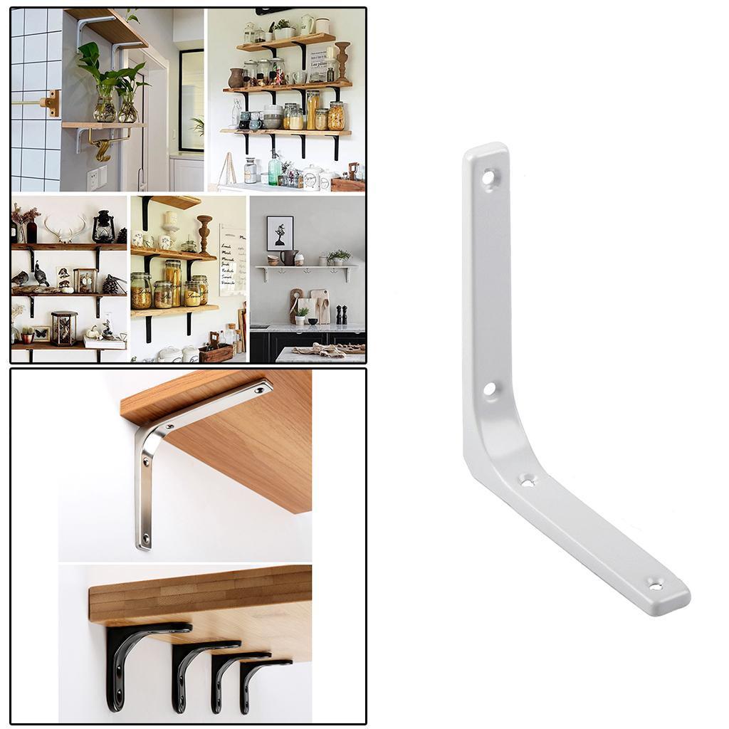 thumbnail 120 - Shelf   Floating Shelves Tripod Triangle Shelf Brackets for Bathroom