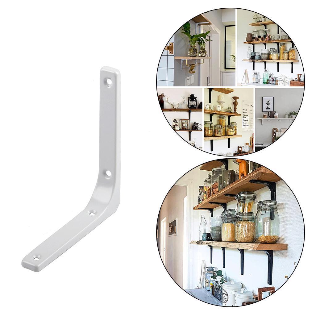 thumbnail 122 - Shelf   Floating Shelves Tripod Triangle Shelf Brackets for Bathroom