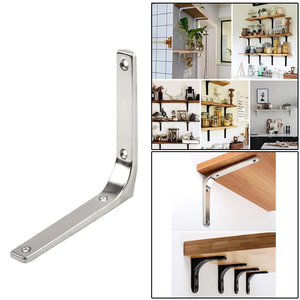 thumbnail 201 - Shelf   Floating Shelves Tripod Triangle Shelf Brackets for Bathroom