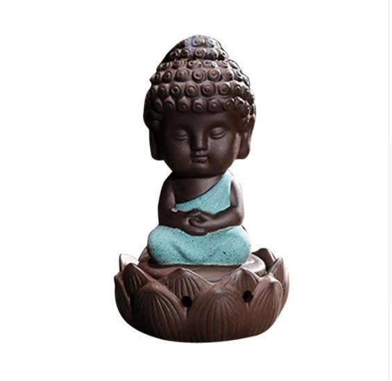Buddhismus-Moenche-Raeuchergefaess-Keramik-Stick-Kegel-Halter-Rueckfluss Indexbild 7