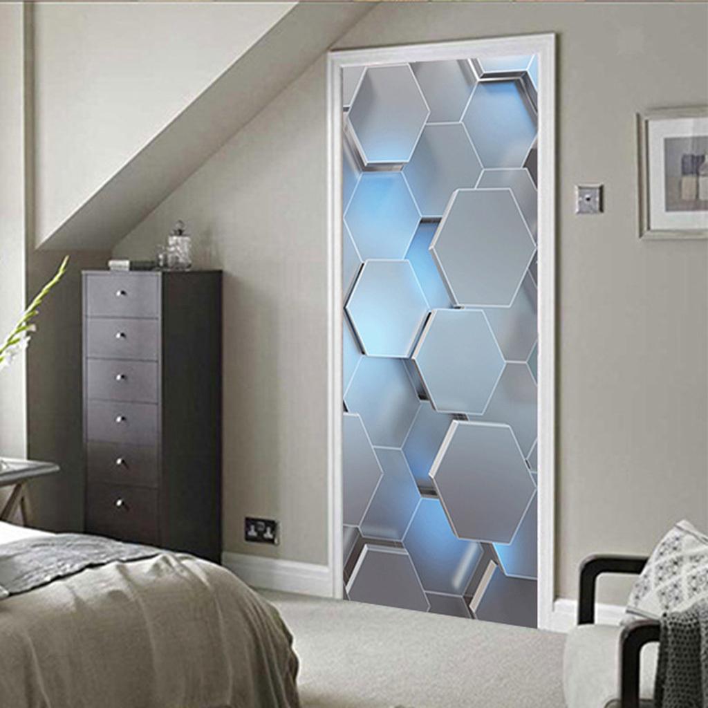 miniatura 4 - 3D Porta Adesivi Murali Decalcomanie Autoadesivo Adesivo Murale Carta Da