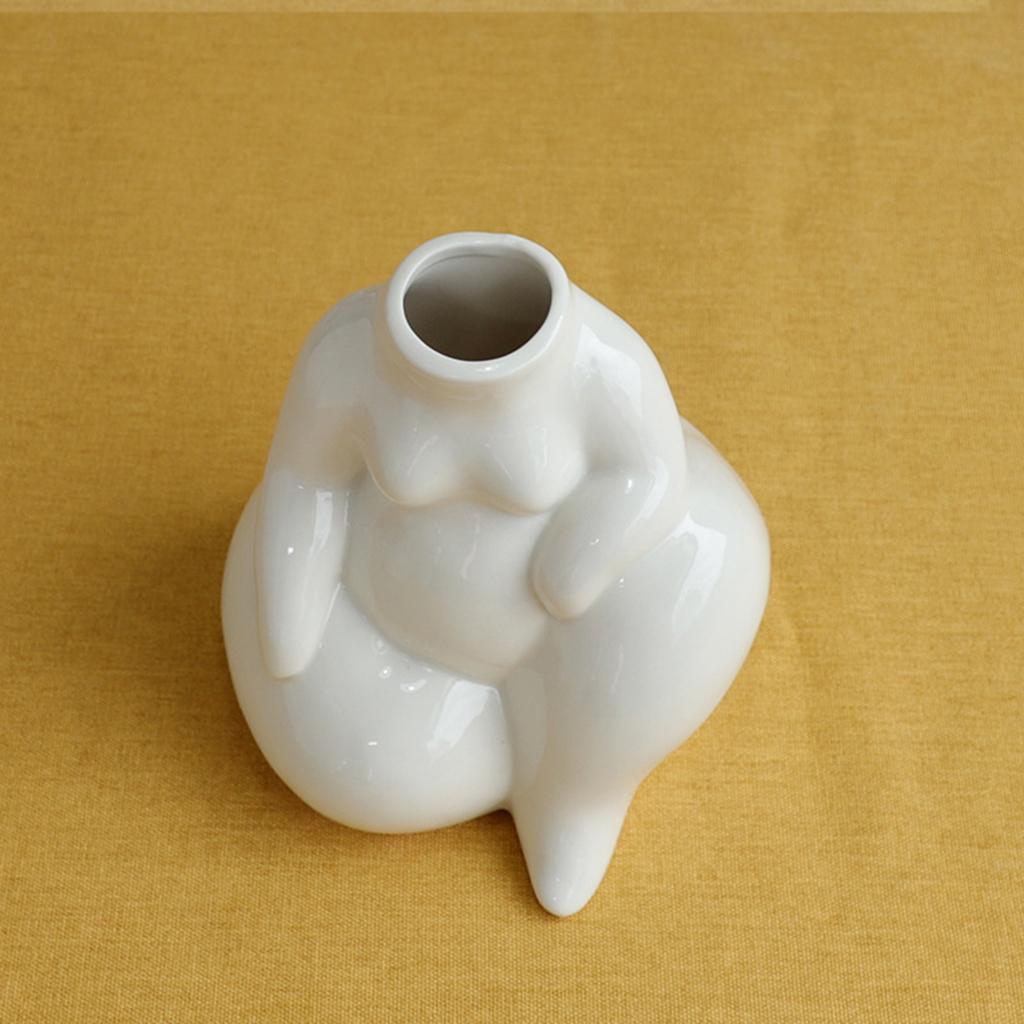 Indexbild 13 - Keramikkörper Blumenvase Blumentöpfe Nordic Boho Minimalistische