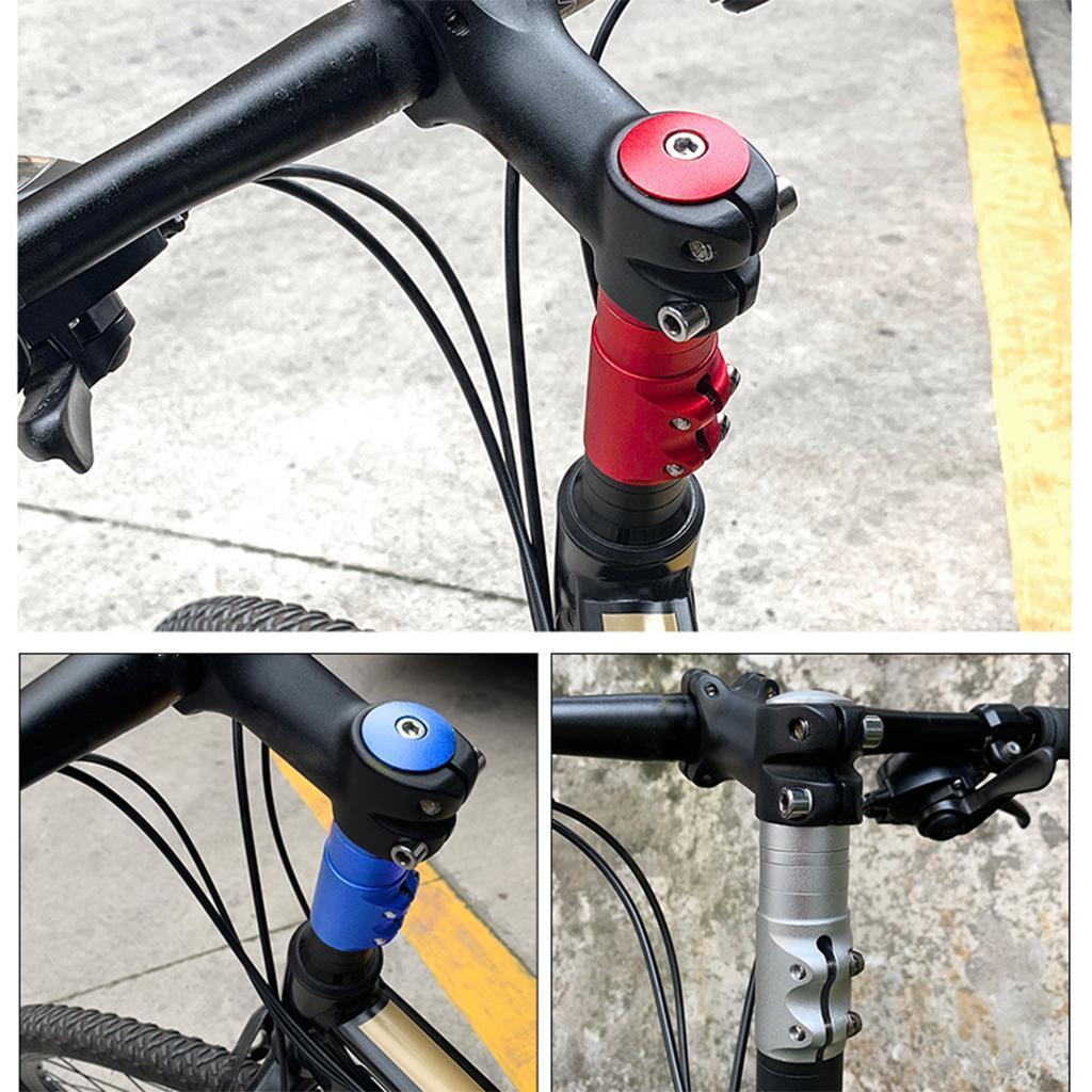 Bicycle Headset Riser Front Fork Stem Extender Extension Handlebar Adaptor