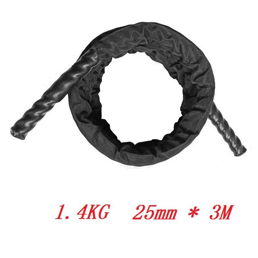 miniature 7 - Corde à sauter lourde corde à sauter cordes de combat d'entraînement pour