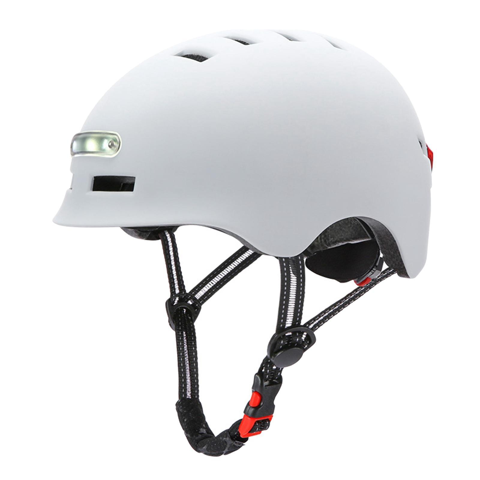 Casco-da-ciclismo-per-skateboard-Casco-da-bici-per-pendolari-con-scooter-da miniatura 3