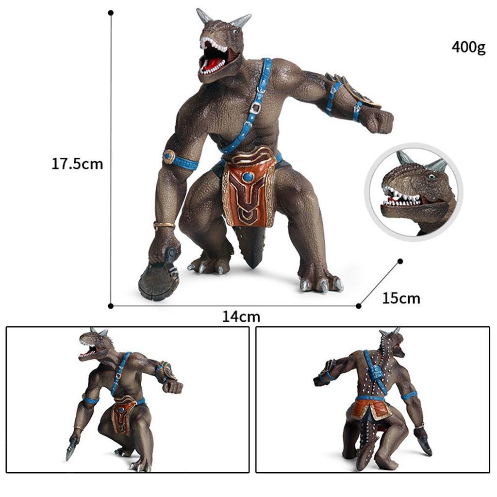 1x-Nanosaur-Model-Figure-Toys-Dinosaur-Soldier-Plastic-Children-Toy-Decor thumbnail 20