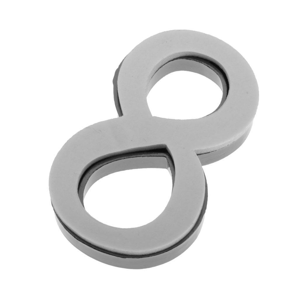 Metal-House-Door-Plaque-Hotel-Gate-Office-Dormitory-Number-Sign-Sticker miniature 25
