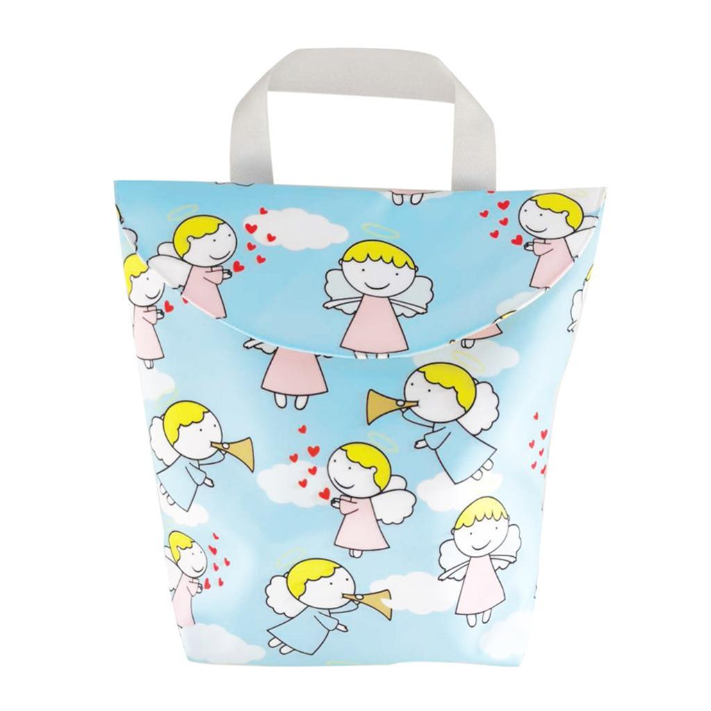 Baby-Diaper-Bag-Organizer-Fashion-Prints-Mummy-Storage-Bag-Outdoor-Reusable miniature 55