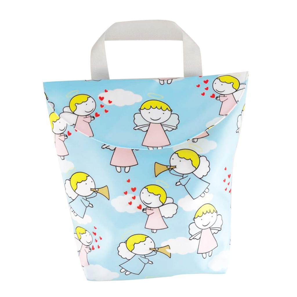 Baby-Diaper-Bag-Organizer-Fashion-Prints-Mummy-Storage-Bag-Outdoor-Reusable miniature 56