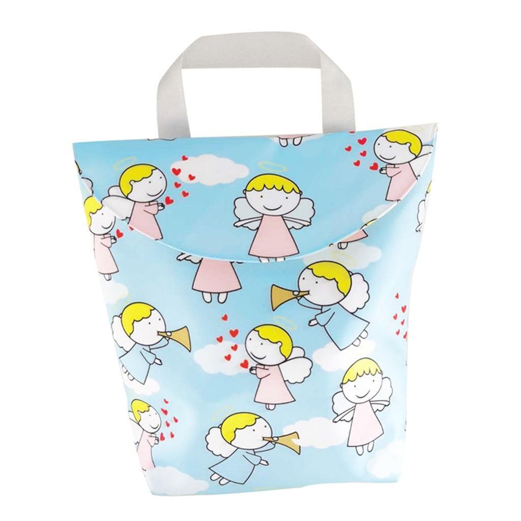 Baby-Diaper-Bag-Organizer-Fashion-Prints-Mummy-Storage-Bag-Outdoor-Reusable miniature 57