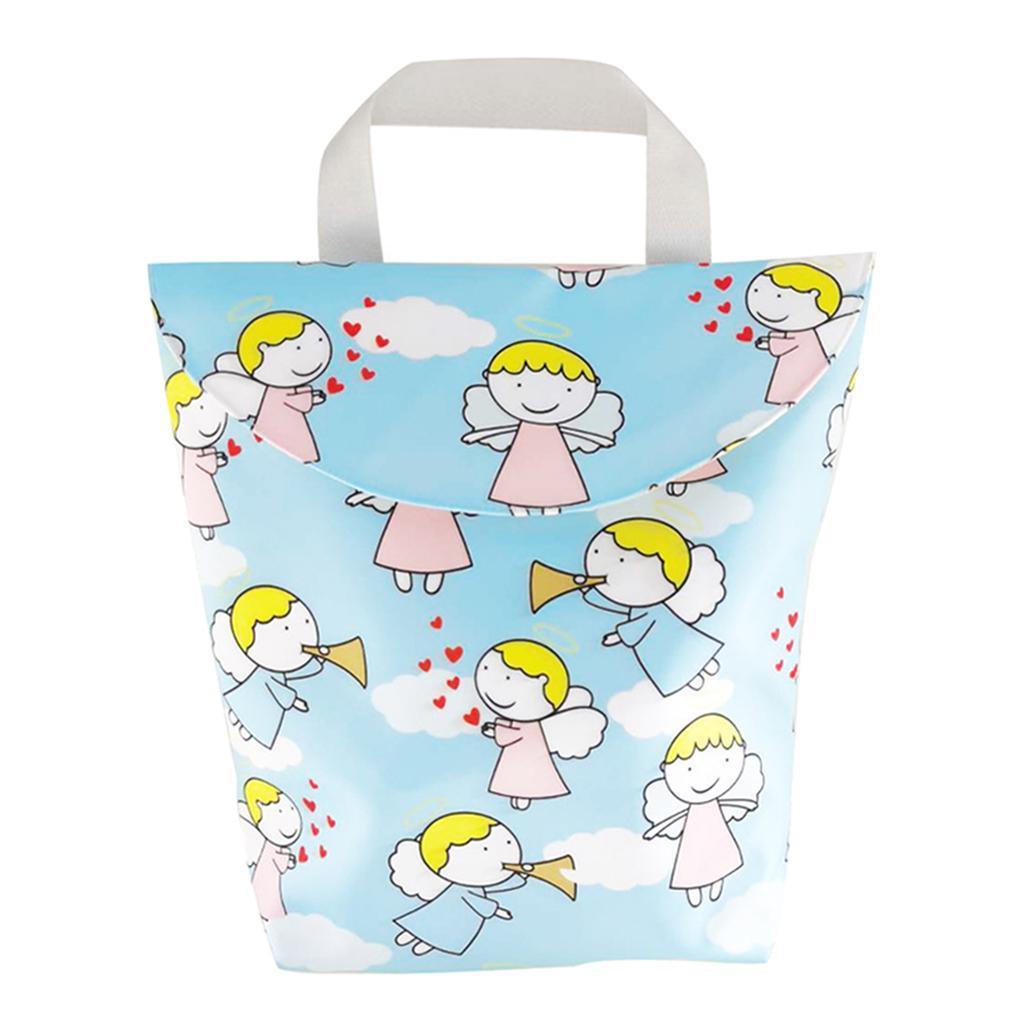 Baby-Diaper-Bag-Organizer-Fashion-Prints-Mummy-Storage-Bag-Outdoor-Reusable miniature 58
