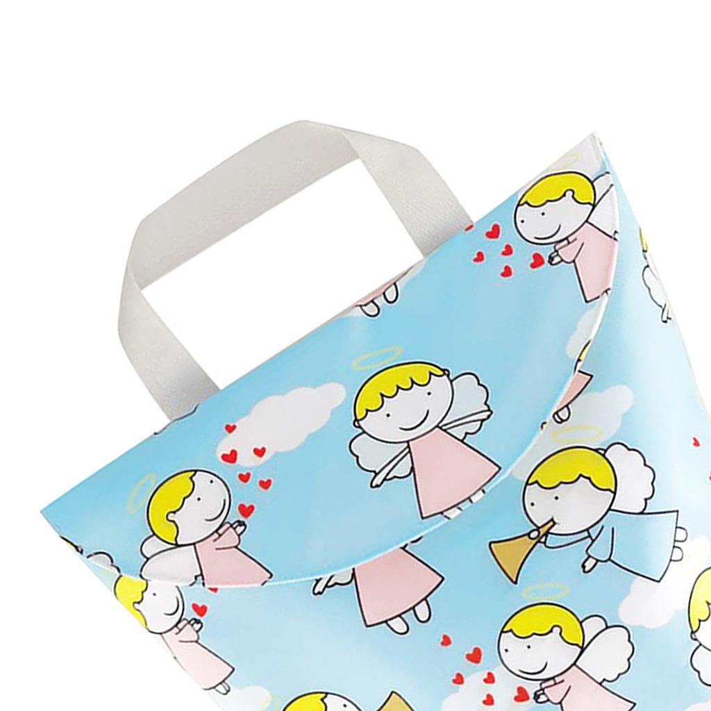 Baby-Diaper-Bag-Organizer-Fashion-Prints-Mummy-Storage-Bag-Outdoor-Reusable miniature 59