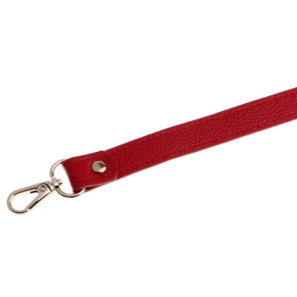 miniature 12 - Replacement Leather DIY Adjustable Long Shoulder Strap Crossbody Purse