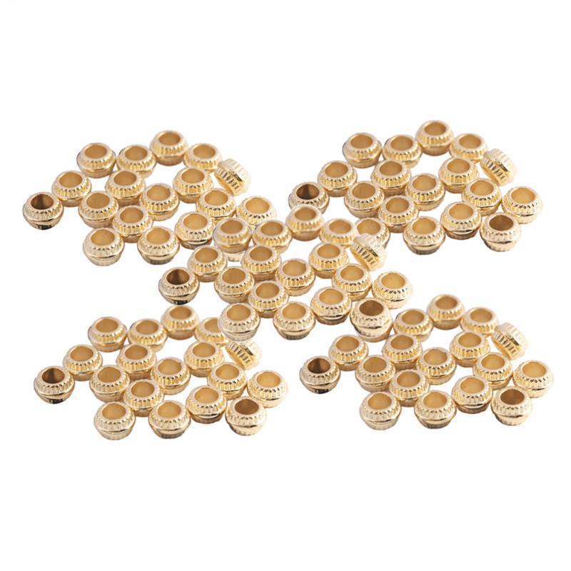 200x-Perles-d-039-Espacement-Perle-Passante-en-Plastique-Decoration-Ornement miniature 7