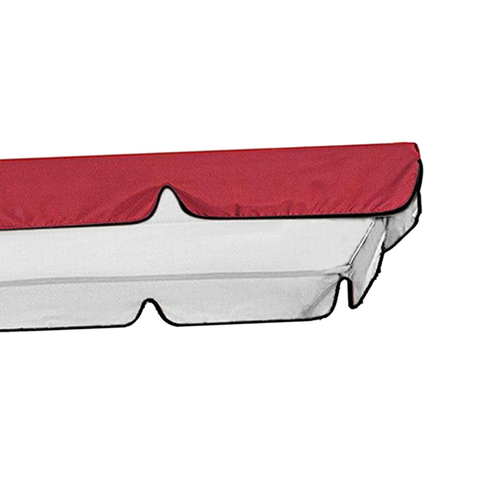 miniatura 14 - Copertura superiore della sedia a dondolo da giardino per esterni con
