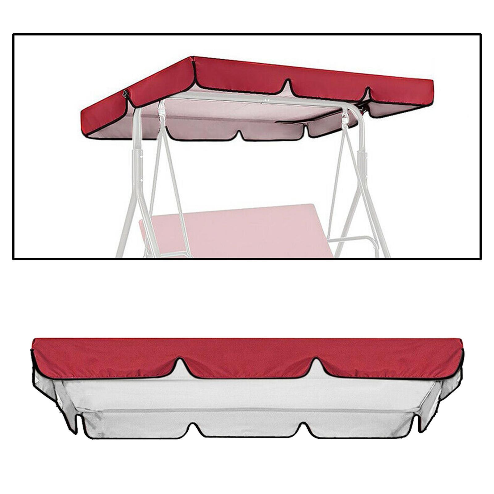 miniatura 20 - Copertura superiore della sedia a dondolo da giardino per esterni con