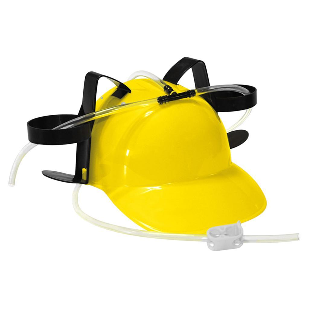 Novelty-Drinking-Helmet-Beer-Hat-Drink-Holder-Cola-Soda-Party-Stag-Do-Game miniature 8