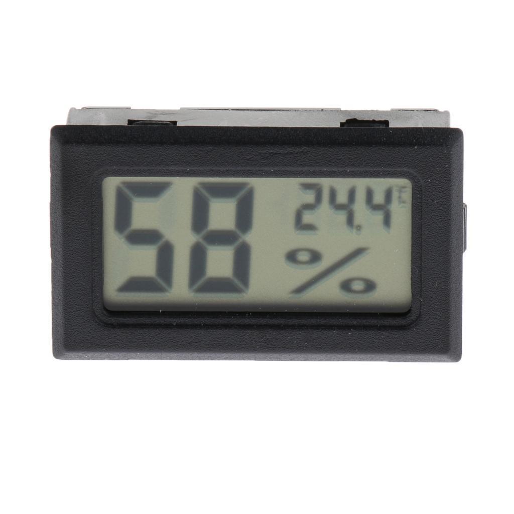 2pcs-DC1-5V-LCD-Termometro-Digitale-per-Acquario-Terrario-Serpente-Lucertola miniatura 3