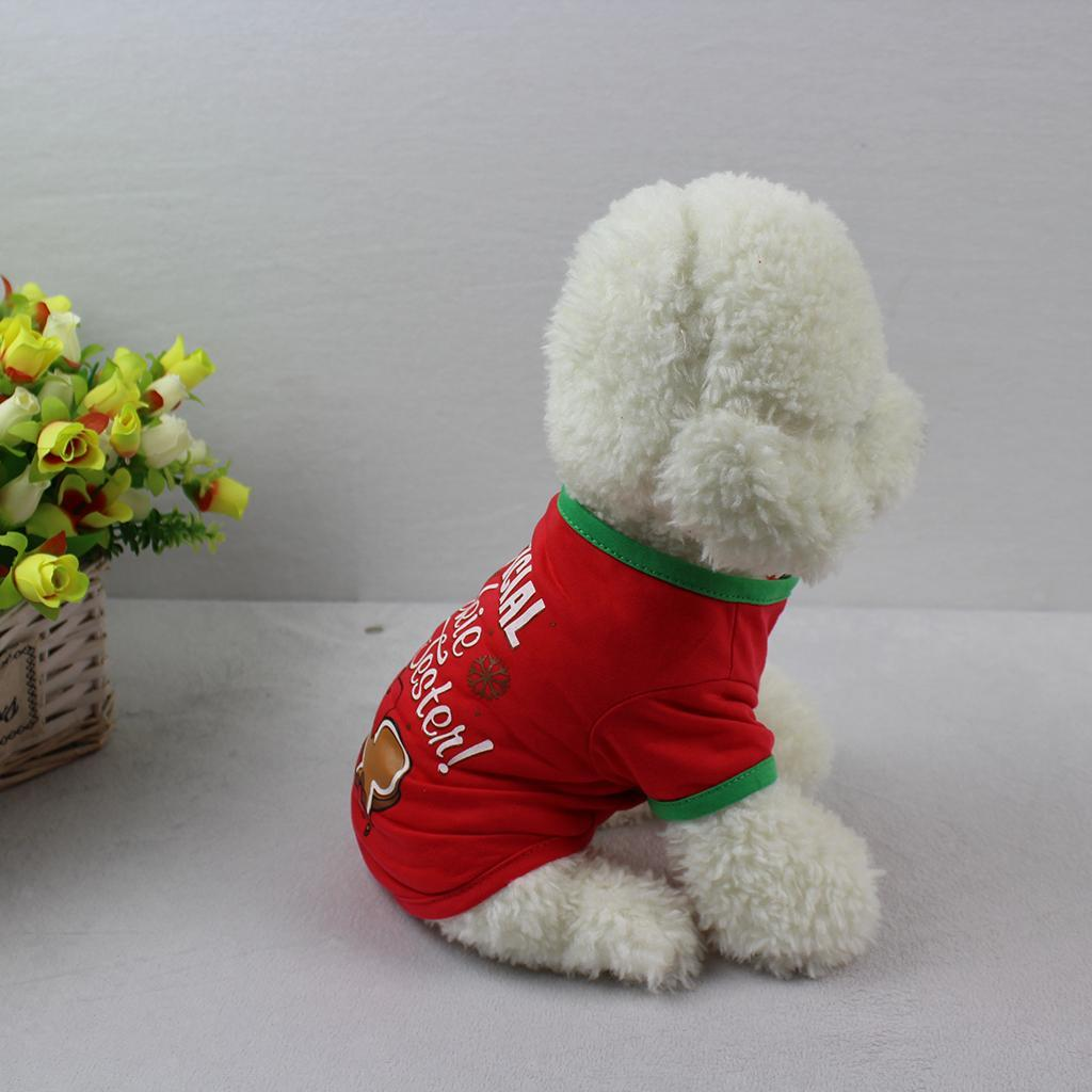Small-Dog-Xmas-Clothes-Pet-dog-christmas-Apparel-For-Small-to-Large-Dogs thumbnail 3