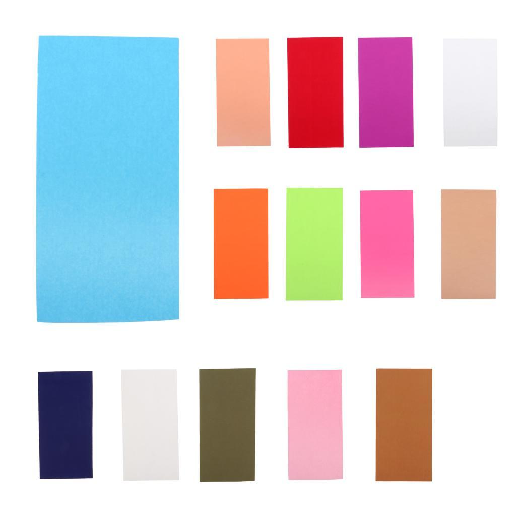 5PCs PVC Waterproof Self Adhesive Sticker Cloth Patches Tent Repair Tape PatchWI
