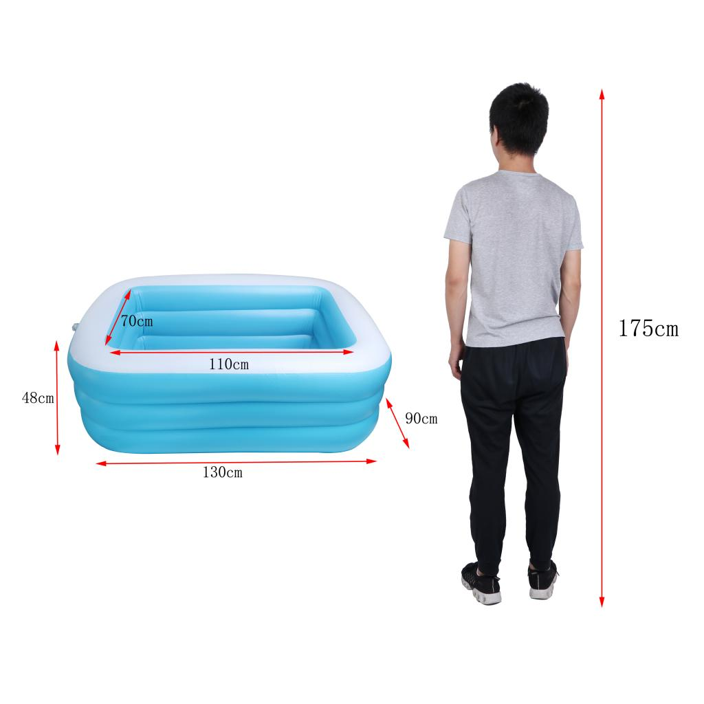 Aufblasbare Pool Swimmingpool Schwimmbecken Planschbecken für Kinder ab 3