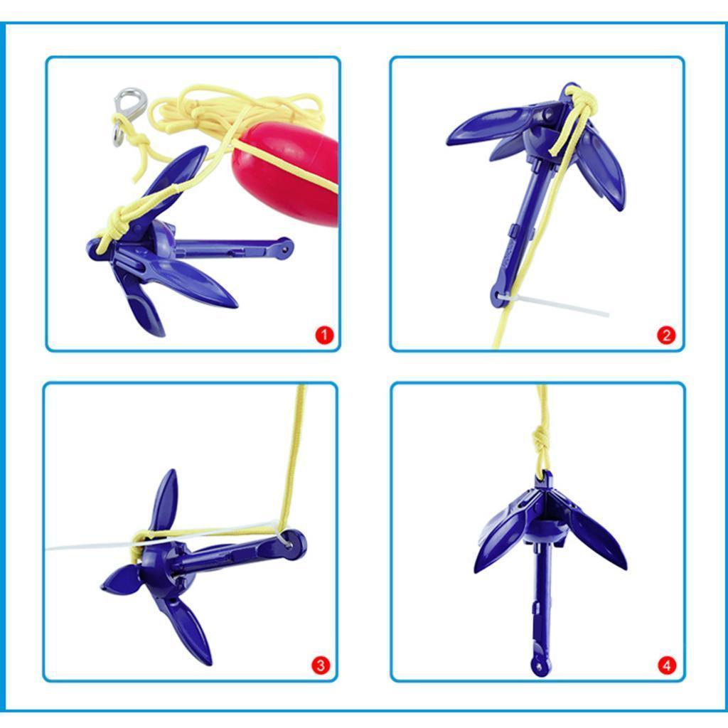 Boat Anchors Marine Anchor for Sailboats Kayak Marine Lightweight Durable