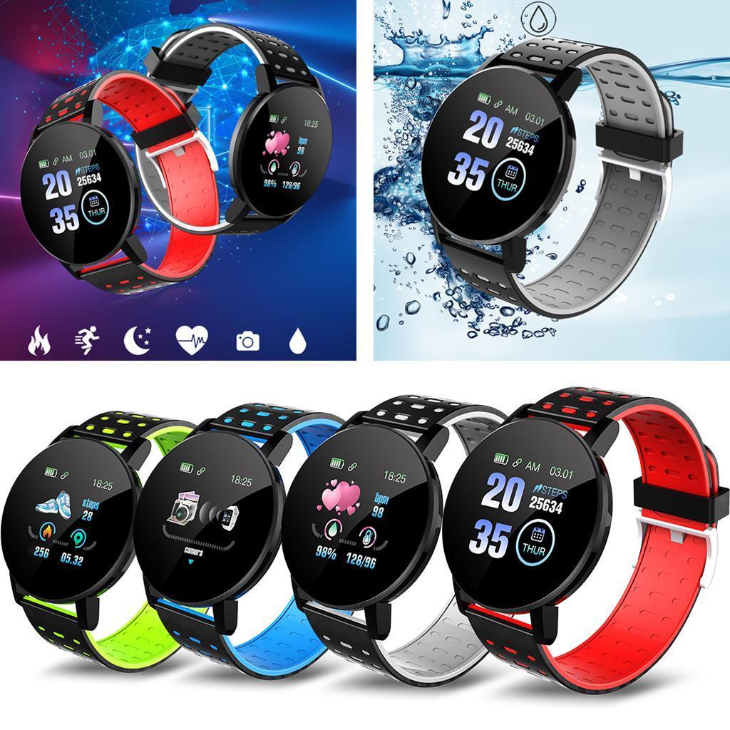 Indexbild 4 - Wasserdichter Bluetooth 4.0 Smart Watch Fitness Tracker Mate für iOS Android