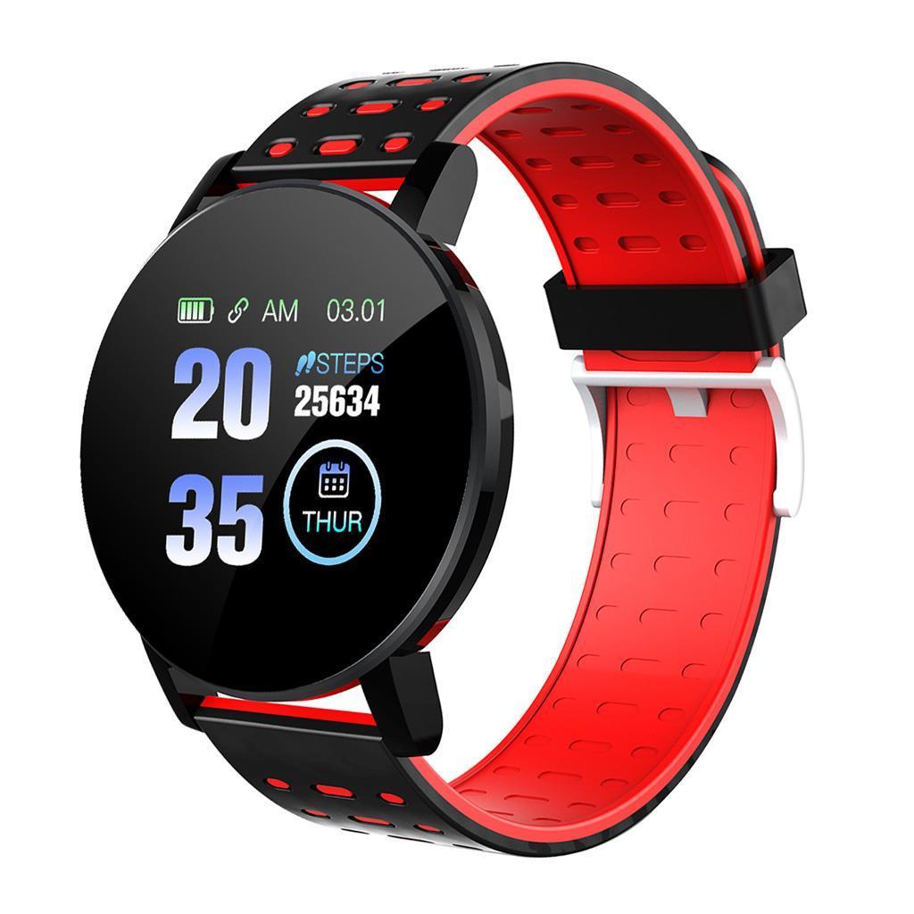 Indexbild 3 - Wasserdichter Bluetooth 4.0 Smart Watch Fitness Tracker Mate für iOS Android