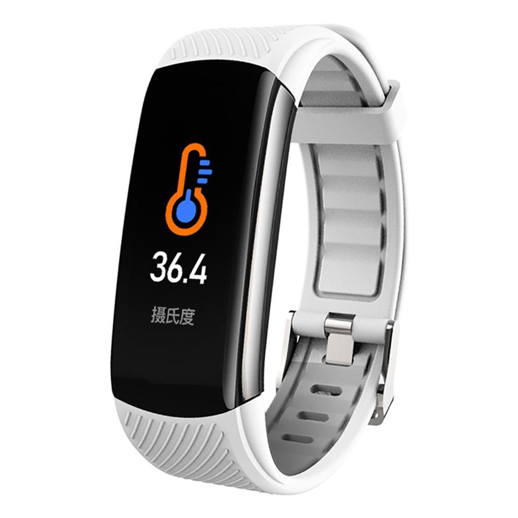 Indexbild 9 - Smart Watch Temperaturmesser Herzfrequenzmesser Blutdruck Fitness Tracker