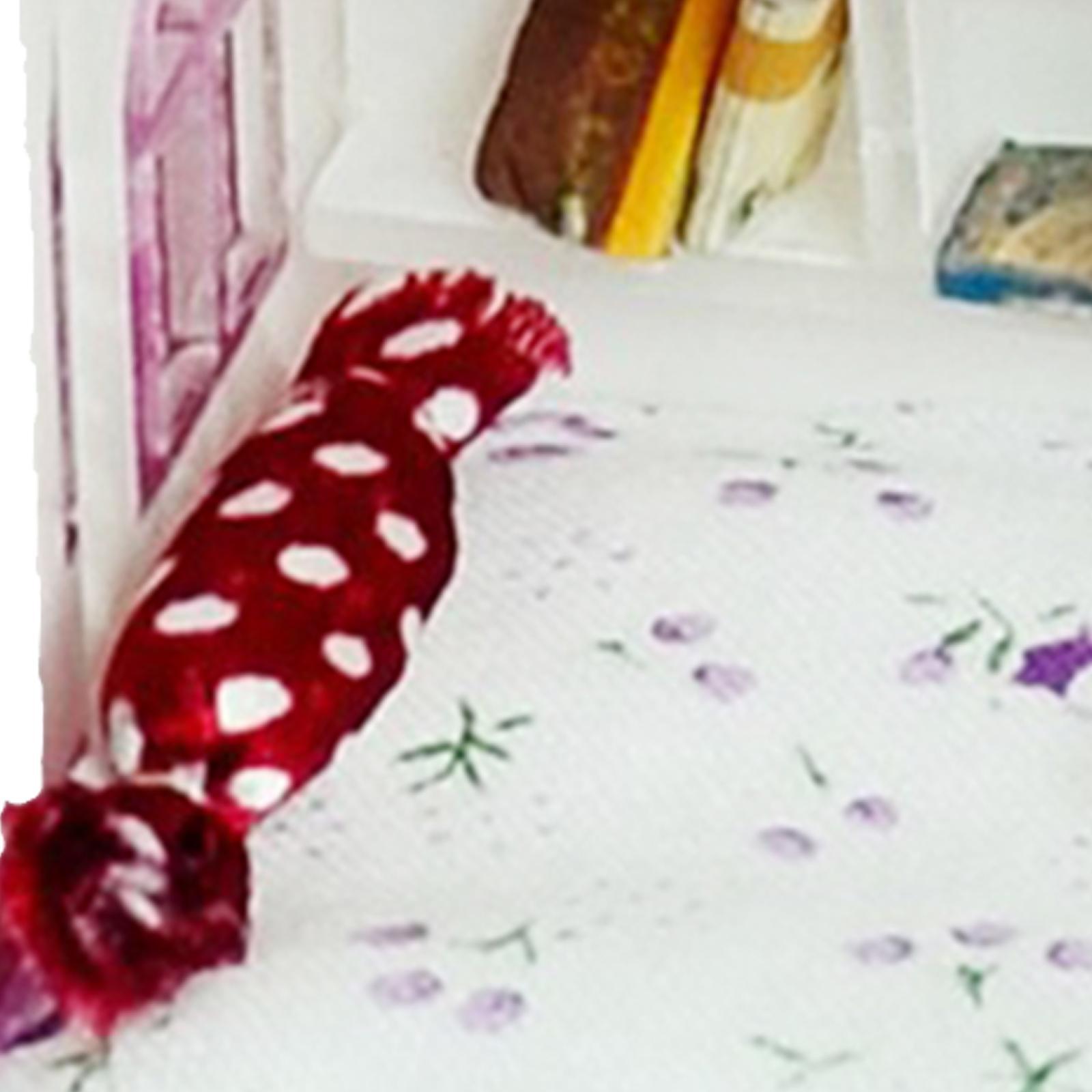 1//6 Échelle Maison de Poupée Ensemble de literie pour Barbie Chelsea Kelly Dolls TWIN SET