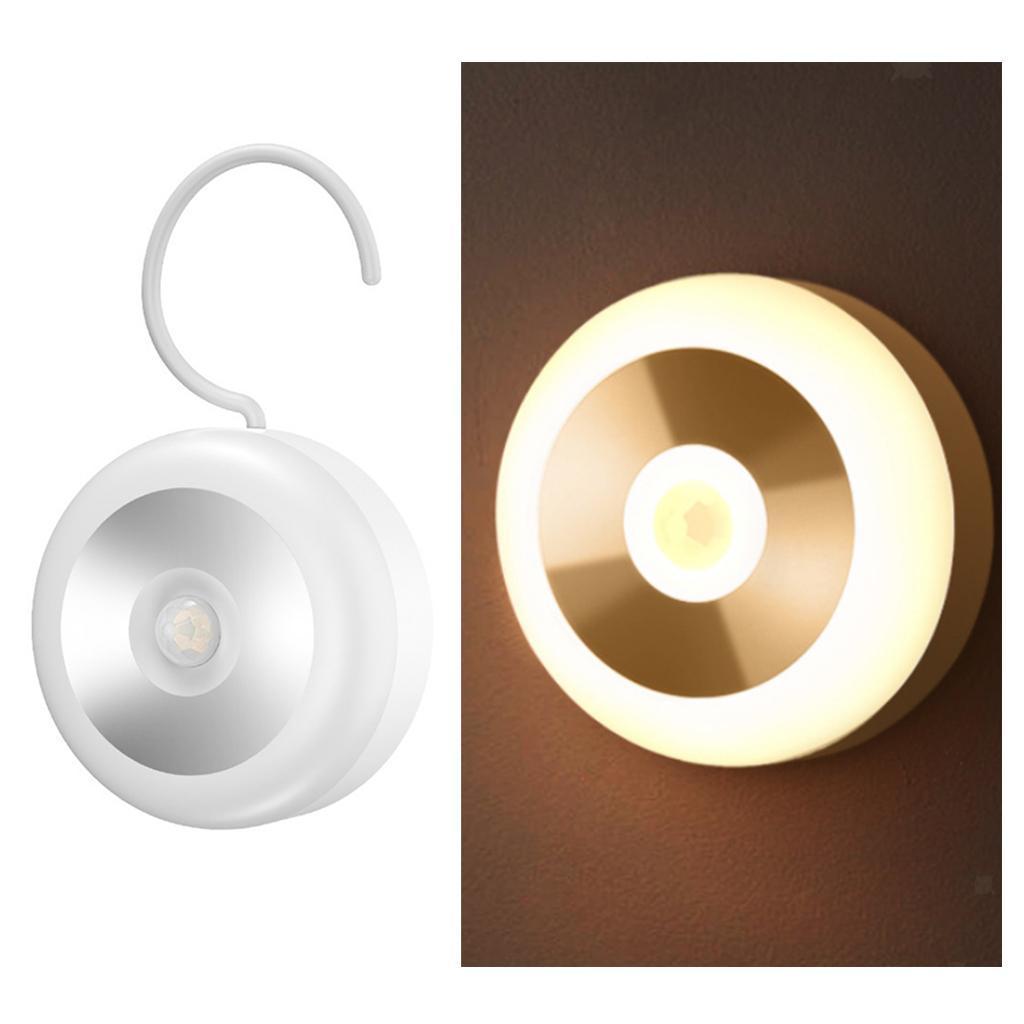 Luce-notturna-a-LED-con-rilevatore-di-movimento-Luce-notturna-ON-OFF miniatura 4